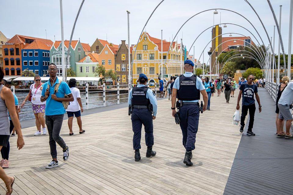 Patrouille te Willemstad